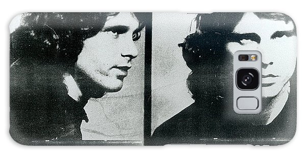 Jim Morrison Mug Shot Horizontal Galaxy Case