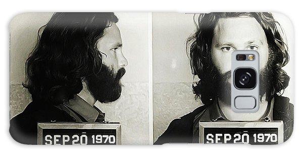 Jim Morrison Mugshot Galaxy Case