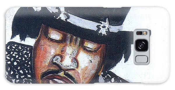 Jimi Hendrix Galaxy Case by Emmanuel Baliyanga