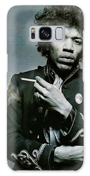 Stone Galaxy Case - Jimi Hendrix, Fender Guitar by Thomas Pollart