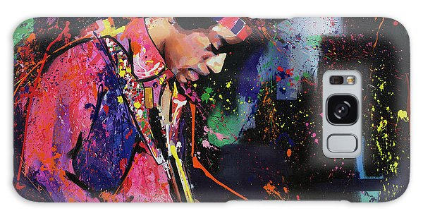 Jimi Hendrix II Galaxy Case by Richard Day