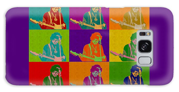 Jimi Hendrix In The Style Of Andy Warhol Galaxy Case