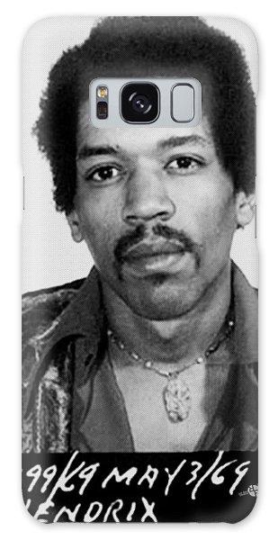Jimi Hendrix Mug Shot Vertical Galaxy Case