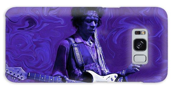 Rock And Roll Galaxy Case - Jimi Hendrix Purple Haze by David Dehner