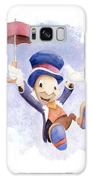 Insects Galaxy Case - Jiminy Cricket With Umbrella by Andrew Fling