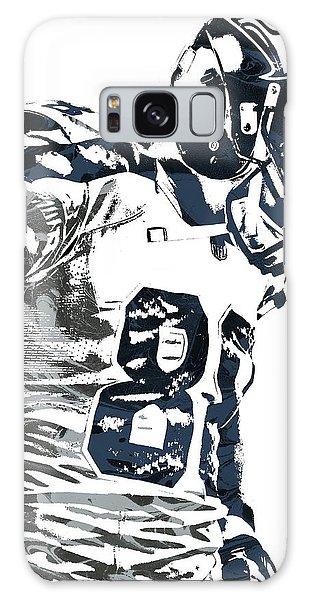 Jimmy Graham Seattle Seahawks Pixel Art 2 Galaxy Case by Joe Hamilton