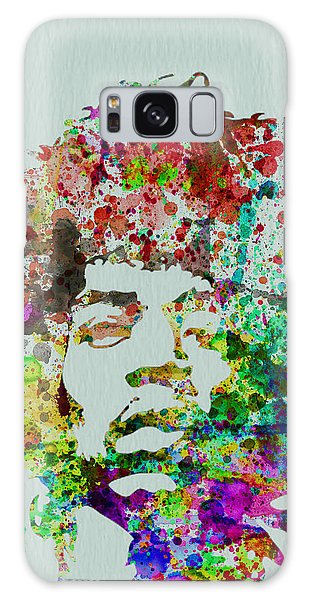 Rock And Roll Galaxy S8 Case - Jimmy Hendrix Watercolor by Naxart Studio