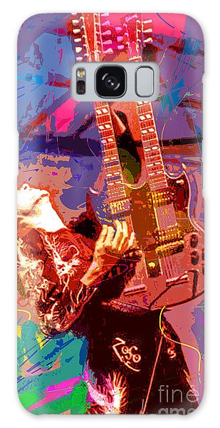 Led Zeppelin Galaxy Case - Jimmy Page Stairway To Heaven by David Lloyd Glover