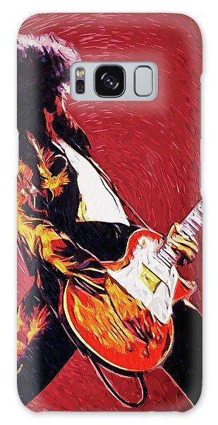 Folk Art Galaxy Case - Jimmy Page  by Zapista
