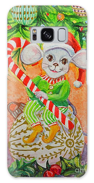 Jingle Mouse Galaxy Case