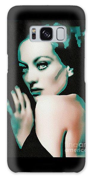 Joan Crawford - Pop Art Galaxy Case by Ian Gledhill
