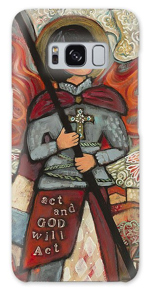 Hundred Galaxy Case - Joan Of Arc by Jen Norton