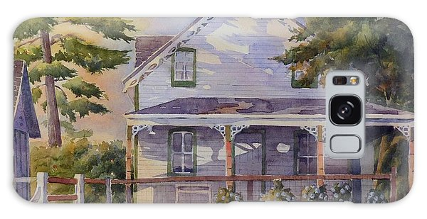 Galaxy Case featuring the painting Joanne's House by David Gilmore