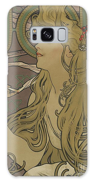Marie Galaxy Case - Job Vintage Poster by Alphonse Marie Mucha