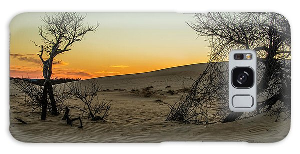 Galaxy Case featuring the photograph Jockey's Ridge View by Donald Brown