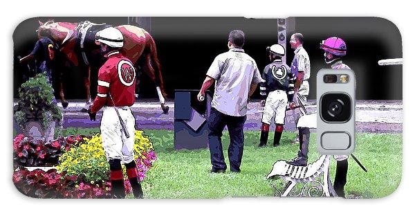 Jockeys Painting Galaxy Case