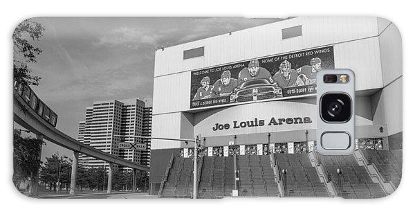 Joe Louis Arena Black And White  Galaxy Case