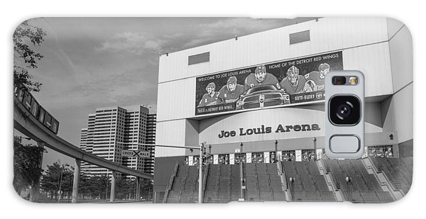 Joe Louis Arena Black And White  Galaxy Case
