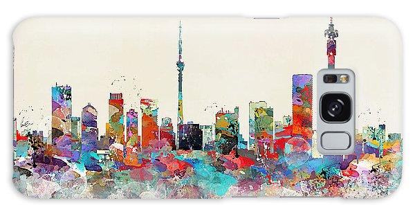 Johannesburg South Africa Skyline Galaxy Case by Bri B