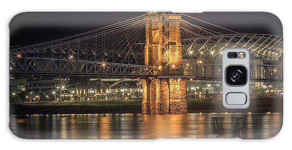 John A. Roebling Suspension Bridge Galaxy Case
