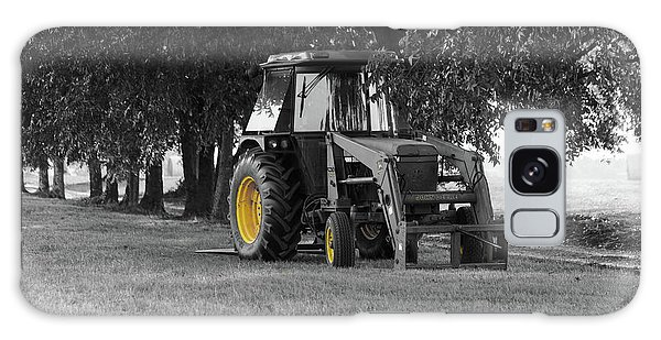 John Deere 620 In Selective Color Galaxy Case