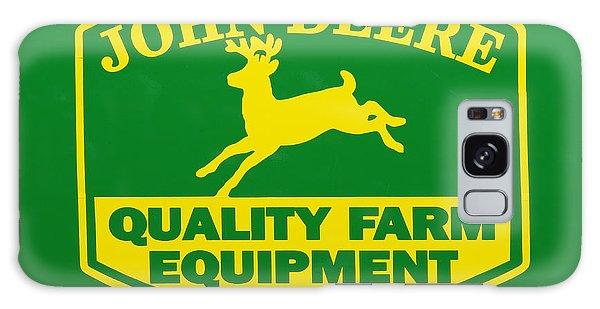 John Deere Galaxy Case - John Deere Farm Equipment Sign by Randy Steele
