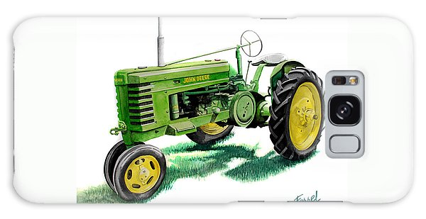 John Deere Tractor Galaxy Case by Ferrel Cordle