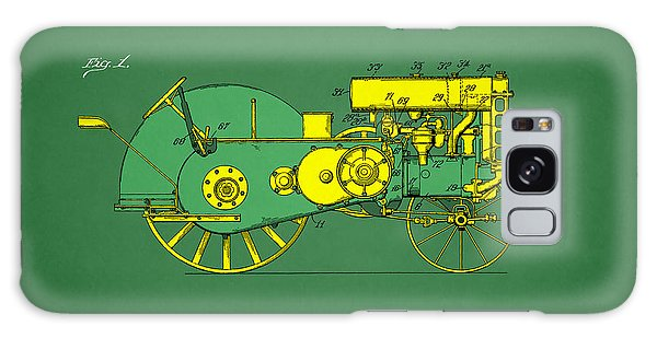 John Deere Galaxy Case - John Deere Tractor Patent by Mark Rogan