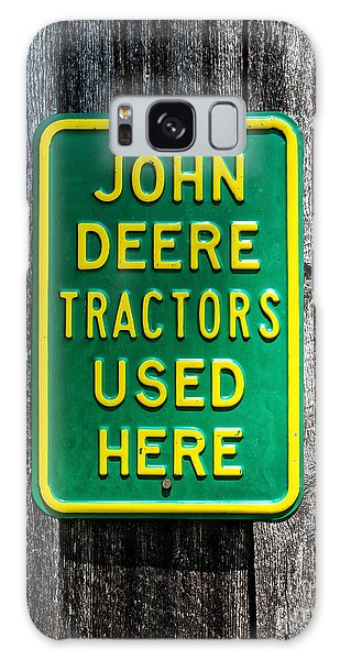 John Deere Used Here Galaxy Case
