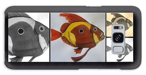 Galaxy Case - John Dory Collage by Joan Stratton
