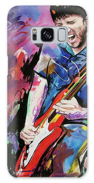 John Frusciante Galaxy Case by Richard Day