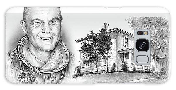 John Glenn Birth Place 2 Galaxy Case