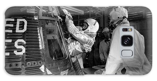 Astronaut Galaxy Case - John Glenn Entering Friendship 7 Spacecraft by War Is Hell Store