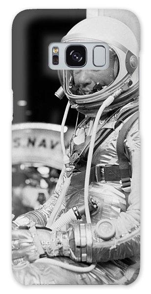 Astronaut Galaxy Case - John Glenn Wearing A Space Suit by War Is Hell Store