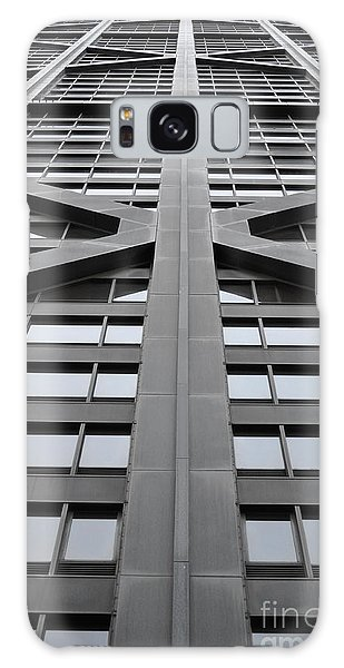 John Hancock Building Galaxy Case by Mary Machare