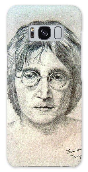 Galaxy Case - John Lennon Imagine by Digital Painting