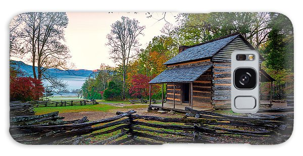 Cottage Galaxy Case - John Oliver Place In Cades Cove by Rick Berk
