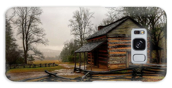John Oliver's Cabin In Cades Cove Galaxy Case