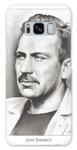 John Steinbeck Galaxy Case by Greg Joens