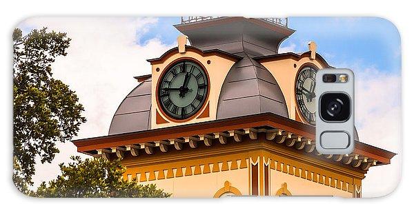 John W. Hargis Hall Clock Tower Galaxy Case