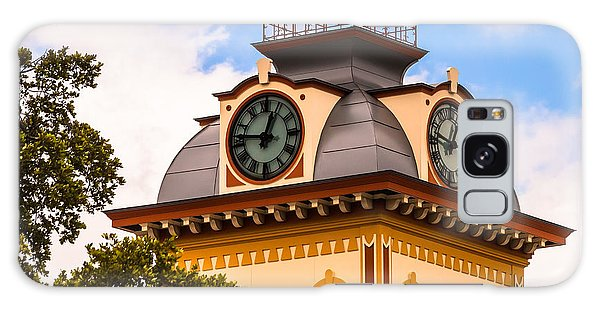 John W. Hargis Hall Clock Tower Galaxy Case