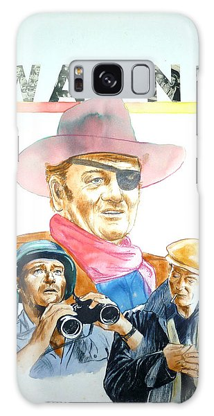 John Wayne Galaxy Case by Bryan Bustard