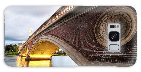 John Weeks Bridge Charles River Harvard Square Cambridge Ma Galaxy Case