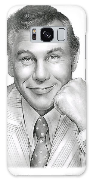 Johnny Carson Galaxy Case by Greg Joens