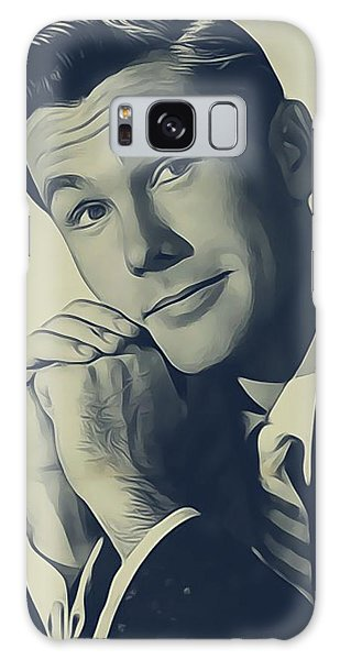 Johnny Carson, Vintage Entertainer Galaxy S8 Case