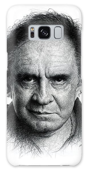 Johnny Cash Galaxy Case