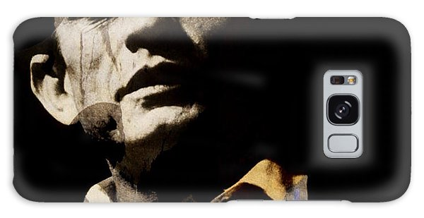 Johnny Cash Galaxy S8 Case - Johnny Cash - I Walk The Line  by Paul Lovering