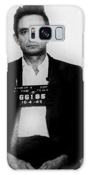 Johnny Cash Mug Shot Vertical Galaxy Case
