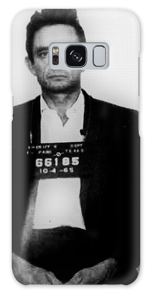 Johnny Cash Mug Shot Vertical Galaxy Case