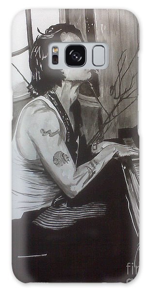 Johnny Depp 1 Galaxy Case by Justin Moore